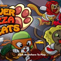SpongeBob Hover Pizza Cats