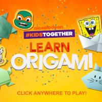 SpongeBob Origami