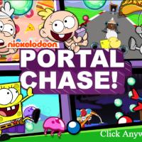 SpongeBob Portal Chase