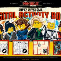 NinjaGo Super Awesome Digital Activity Book