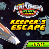 Power Rangers Keeper's Escape