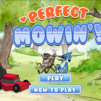 Regular Show Perfect Mowin