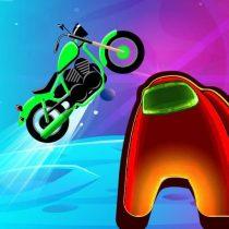 Among Us Motorbike Racing