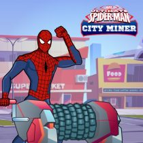 Spiderman City Gold Minner