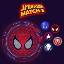 Spiderman Match 3 Puzzles