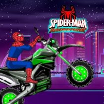 Spiderman Moto Race