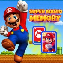 Super Mario Card Matching Puzzle